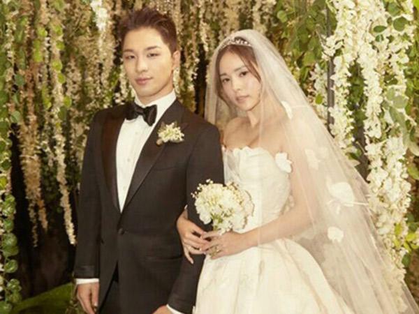 Resmi Jadi Suami-Istri, Taeyang dan Min Hyo Rin Malu-malu Pamer Tarian Romantis