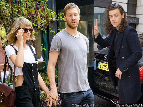 Calvin Haris Takut Kehilangan Taylor Swift Karena Harry Styles?
