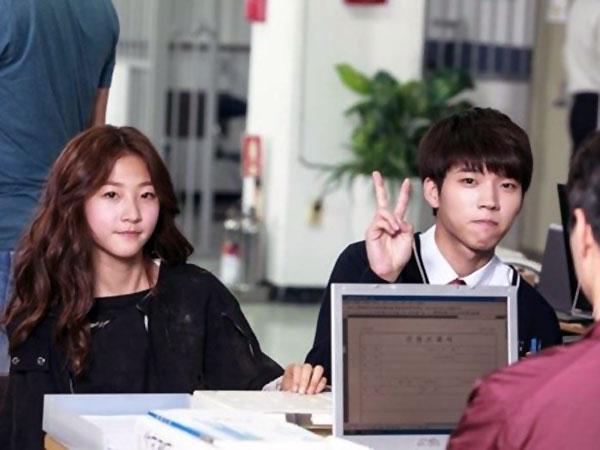 Hiraukan Perbedaan Umur, Woohyun Infinite & Kim Sae Ron Akrab di Set 'High School'
