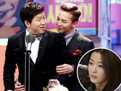 Kocaknya Jun Ji Hyun Saat Parodikan G-Dragon-Jung Hyung Don di 'Man From the Stars'!