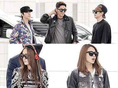 Yuk, Intip Perang Airport Fashion Para Idola K-Pop!
