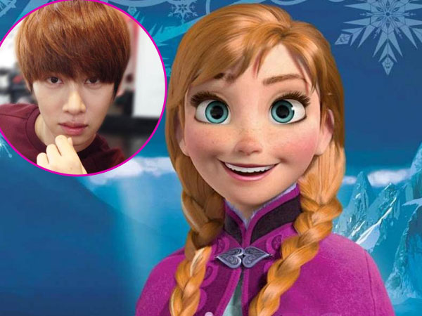 MBC 'Tell Me Your Wish' Buat Heechul Berubah Jadi Karakter Putri Anna Frozen!