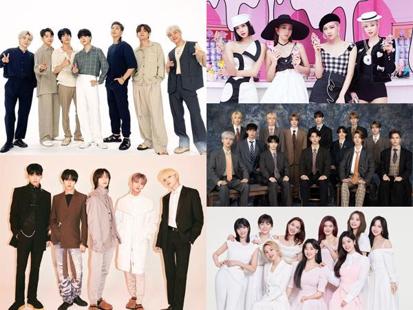5 Artis K-Pop yang Tempati Chart Billboard World Albums Minggu Ini