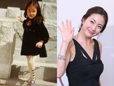 Mau Tahu Kecantikan Choi Ji Wo Saat Kecil?