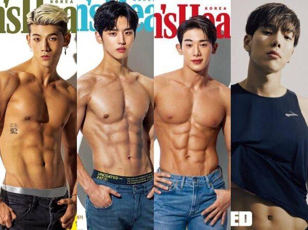 7 Idol K-Pop Pria Bertubuh Atletis