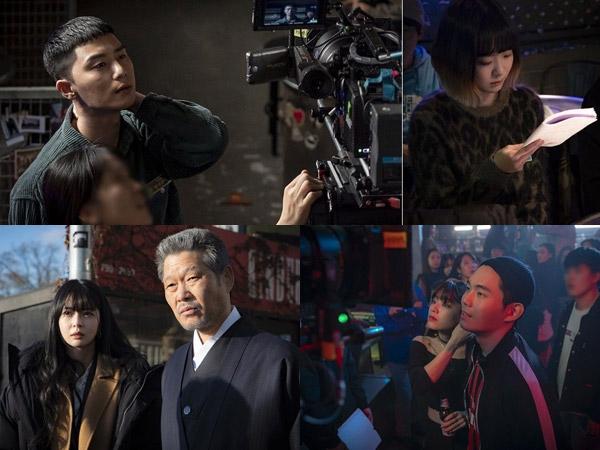 Intip Seru dan Seriusnya Para Pemain 'Itaewon Class' di Balik Layar Drama