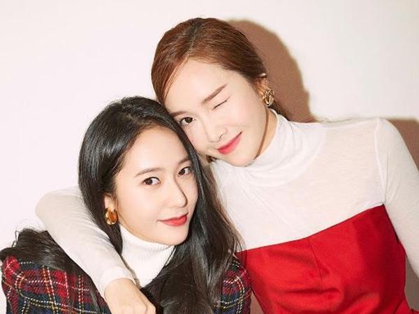 Manisnya Jessica Jung Kirim Dukungan ke Lokasi Syuting Krystal