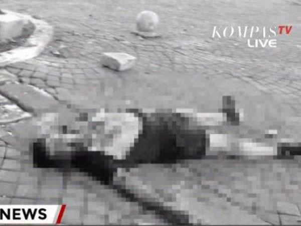 Kondisi Terkini Pasca Ledakan di Monas yang Kabarnya Ada Korban Luka