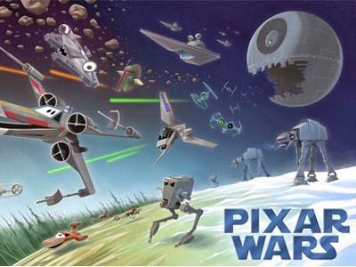 Bersiap, Studio Pixar Garap Film Versi Animasi 'Star Wars'!