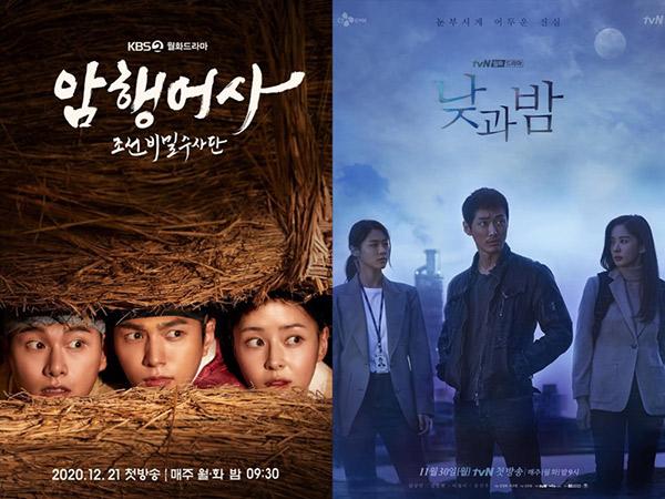 Rating Drama Korea Senin-Selasa: Drama KBS dan tvN Catat Rekor Rating Baru