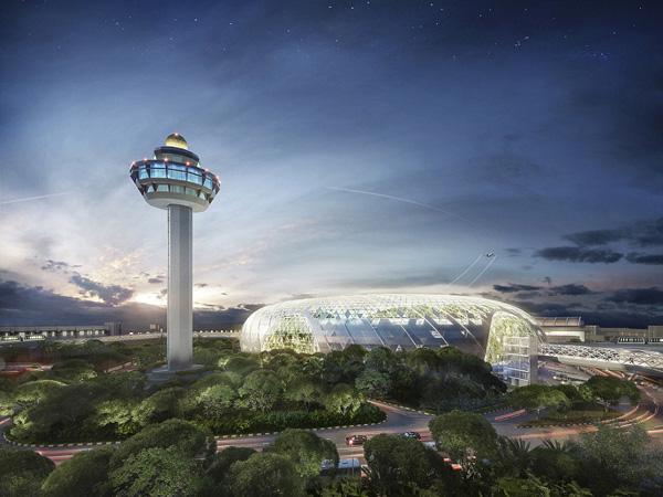 Bandara Changi Singapura Hadirkan Air Terjun dan Taman Terluas di Dunia?