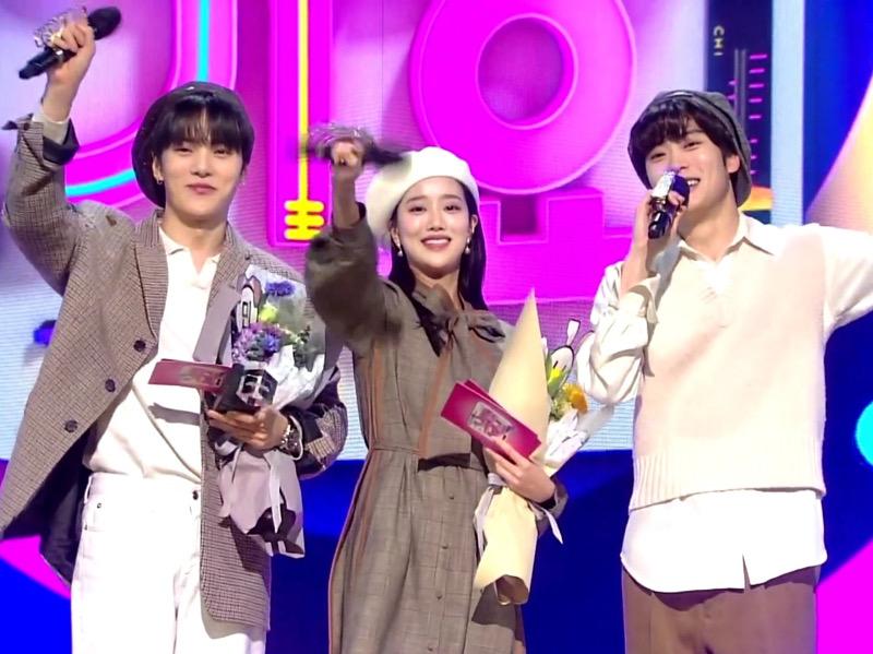 Pamit, Trio MinNaHyun Ungkap Kesan Jadi MC Inkigayo