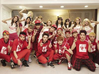 EXO: Hati Kami Berdebar Saat Bertemu dengan SNSD