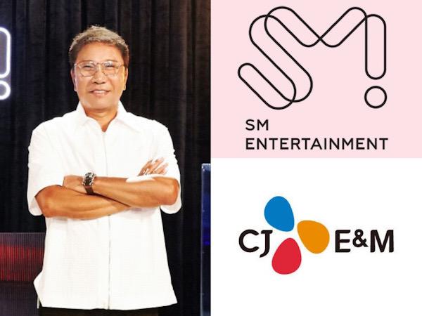 SM Entertainment dan CJ ENM Bantah Isu Sepakat Akuisisi Saham Lee Soo Man