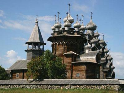 Rusia Miliki Bangunan Tertinggi dari Kayu