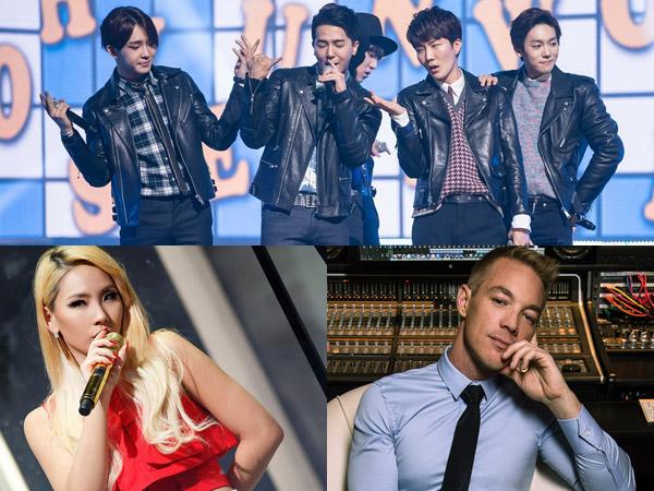 WINNER Siap Hadir, CL 2NE1 Akan Kolaborasi dengan Diplo di Style Icon Awards!