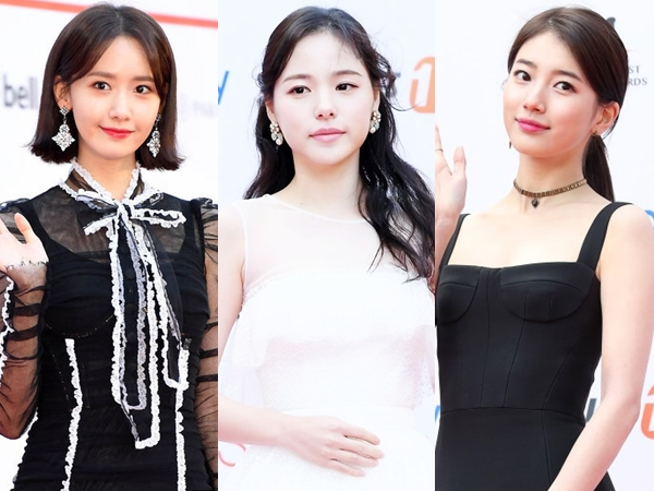 Black vs White, Penampilan Cantik nan Elegan Sederet Aktris Korea di Red Carpet 'Asia Artist Awards 2017'