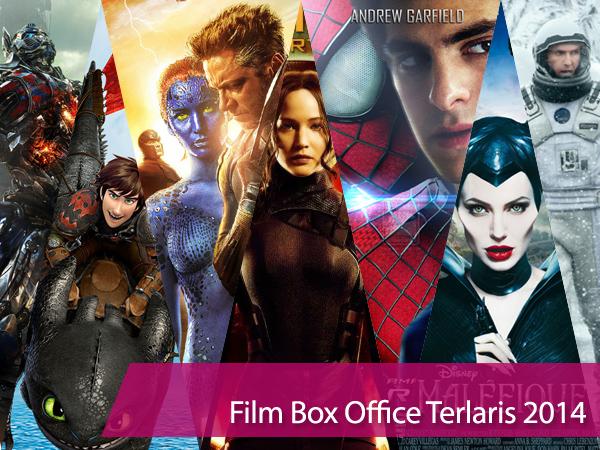 Mau Tahu Pendapatan Fantastis 10 Film Box Office Terlaris 2014?
