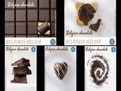 Wow! Ada Perangko Rasa Coklat di Belgia!