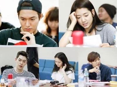 Lee Minho, Park Shin Hye & Pemeran 'The Heirs' Lainnya Hadiri Pembacaan Skrip Pertama