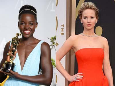 Sempat Tak Diperhitungkan, Lupita Nyong'o Singkirkan Jennifer Lawrence di Oscar!