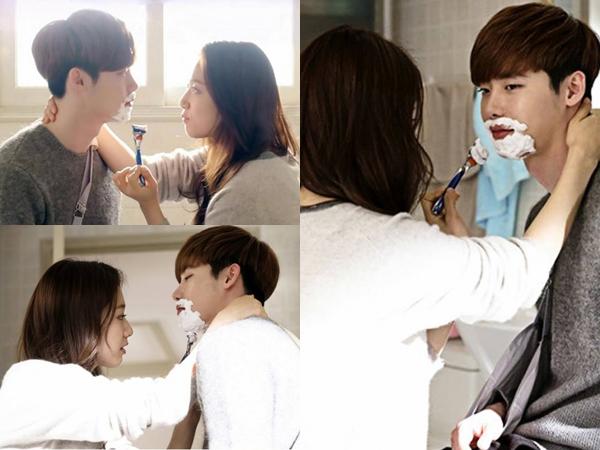 Mesranya Park Shin Hye Ketika Mencoba Mencukur Lee Jong Suk di 'Pinocchio'
