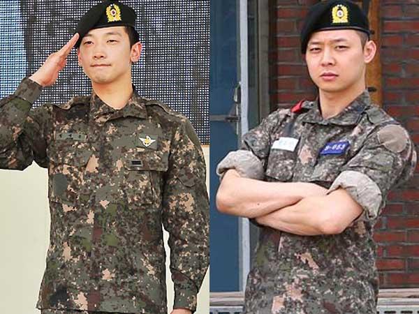 Demam 'Descendant of the Sun', Intip Seleb Korea yang Tampan dan Gagah dengan Seragam Tentara!