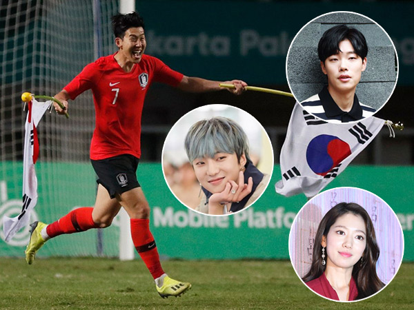 Berbagai Reaksi Selebriti Atas Kemenangan Tim Sepakbola Korea Selatan di #AsianGames2018
