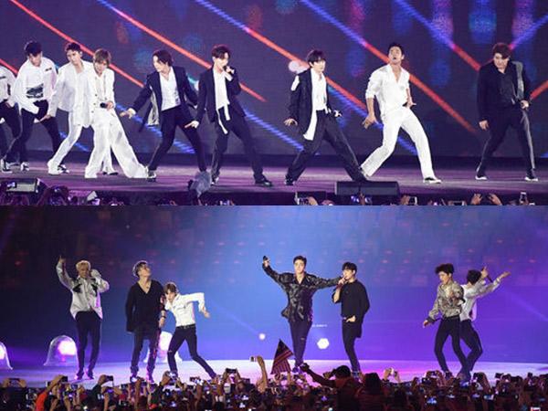 Bawakan Lagu Hits, Super Junior dan iKON Sukses Menghentak Panggung #ClosingCeremonyAsianGames2018!