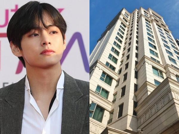 V BTS Dikabarkan Membeli Apartement Mewah Seharga 56 Milyar
