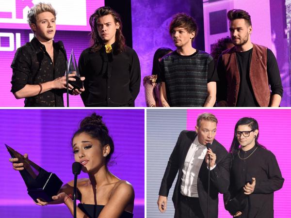 Ini Daftar Lengkap Nominasi American Music Awards 2015