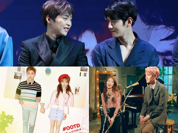Sama-sama Sukses Duet dengan Idola K-Pop Wanita, Ini Kata Baekhyun dan Xiumin EXO