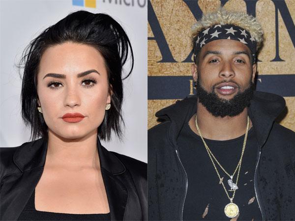 Terlihat Berduaan, Demi Lovato dan Odell Beckham Jr. Pacaran?