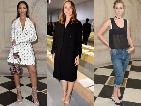 Jennifer Lawrence Hingga Rihanna Jadi Tamu Front Row Dior di Paris Fashion Week