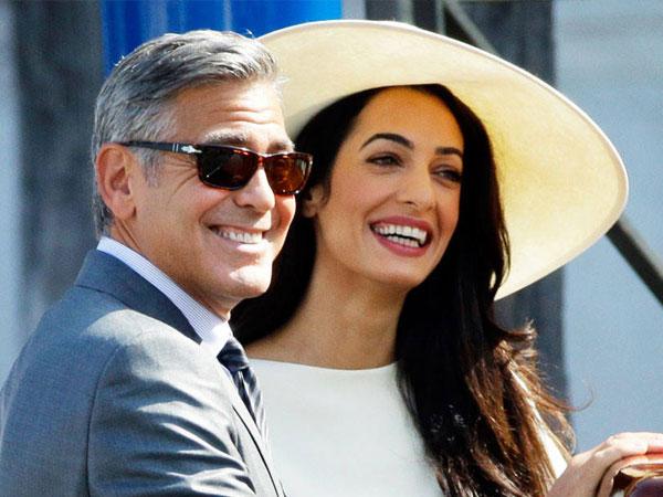 Selamat, George Clooney dan Amal Alamuddin Dikaruniai Anak Kembar