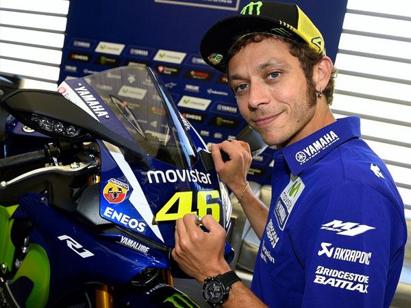 Singkirkan Jorge Lorenzo, Valentino Rossi Sukses Pimpin MotoGP Spanyol