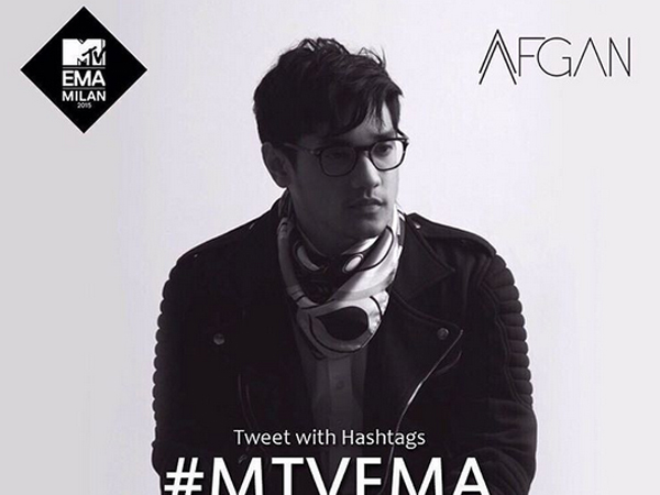Afgan Dapat Dua Nominasi di MTV Europe Music Awards 2015