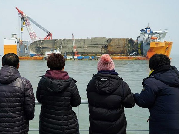 Investigasi Mulai Bulan Mei, Barang-Barang Ini yang Ditemukan dari Bangkai Ferry Sewol