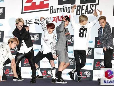 Apa yang Buat B2ST Merasa Pede Mampu Kalahkan Rating EXO di 'Showtime' ?