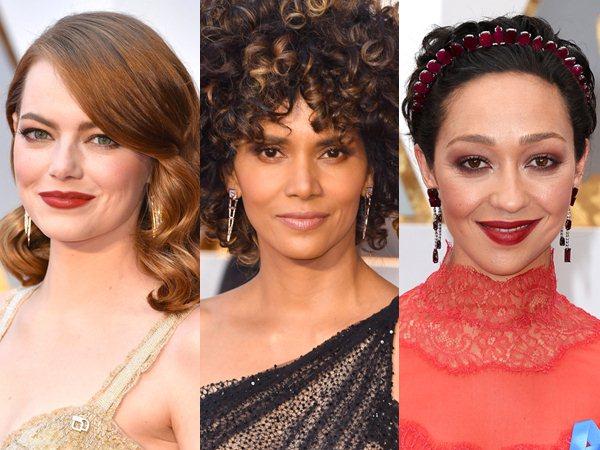 Tak Hanya Dress, Intip Gaya Rambut Hingga Make-Up Terbaik Selebriti Hollywood di Oscar 2017!