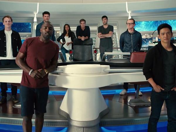 Intip Cara Kocak Pemain 'Star Trek Beyond' Mengajak Fans Gabung Charity!