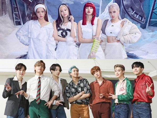 Lagu Pemecah Rekor BTS dan BLACKPINK Masuk yang Terbaik Pilihan Billboard