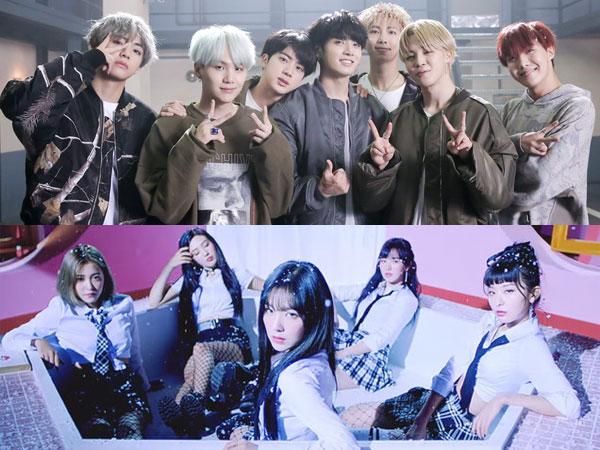 Ada Kemiripan, Ternyata Ini Fakta di Balik Koreografi BTS 'MIC Drop' dan Red Velvet 'Bad Boy'