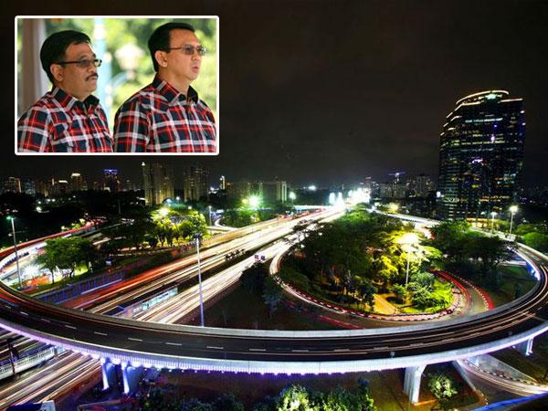 Djarot Sebut Berkat Keberanian Ahok Pembangunan Simpang Susun Semanggi Terwujud
