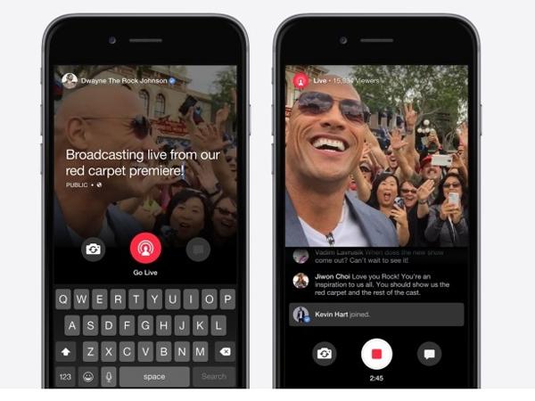 Saingi Periscope, Facebook Juga Rilis Aplikasi Live Video Streaming
