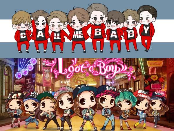 Asyik! SM Entertainment Siap Tampung Karya Fan Art di Website 'Fanbook'