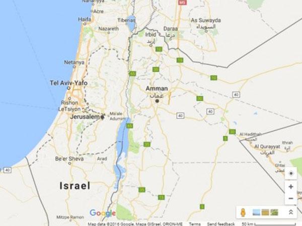 Google Resmi Hapus Wilayah Palestina dari Peta dan Diubah Jadi Israel