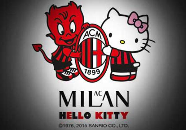 AC Milan Kerja Sama dengan Hello Kitty