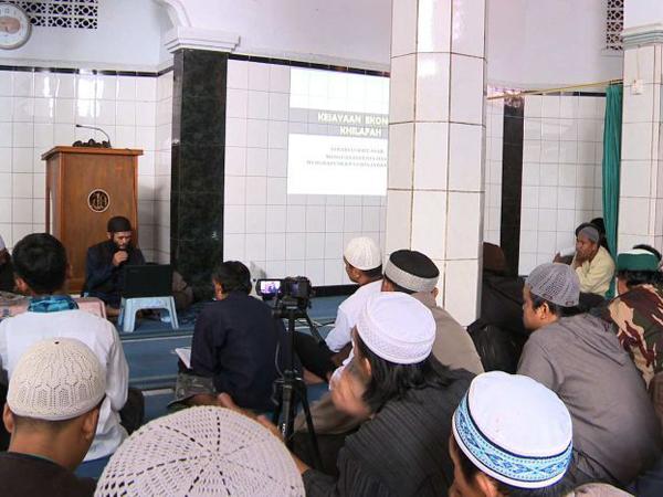 Media Australia Rekam ISIS Rekrut Anggota di Masjid Jakarta