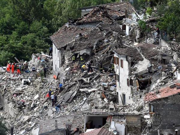 Korban Gempa Itali Jadi 159 Orang, Terjadi Ratusan Kali Gempa Susulan